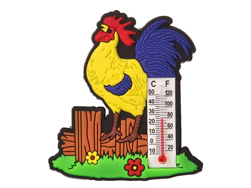 Магнит-термометр Петушок