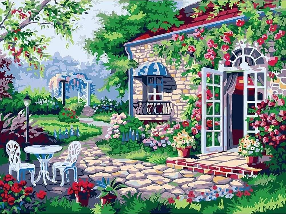 Картина по номерам «Терраса»