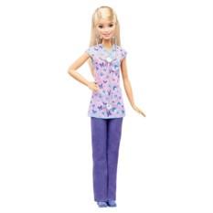 Кукла Barbie из серии Кем быть? (медсестра)