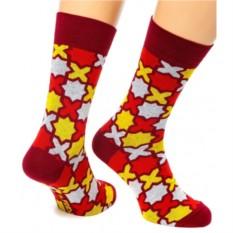 Бордовые носки X-Fridays