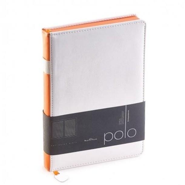 Белый недатированный ежедневник Polo