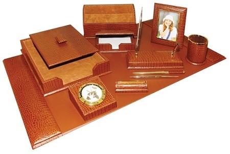 Подарочный набор Horse 10 предметов, коричневая кожа