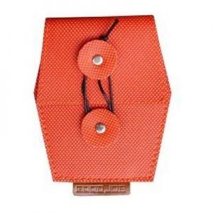 Визитница B-mail в оранжевом