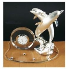 Посеребренные часы Пара дельфинов, Debora Carlucci