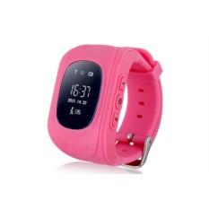 Розовые умные детские часы с GPS Smart Baby Watch Q50