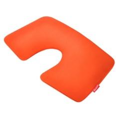 Оранжевая надувная подушка для путешествий First Class