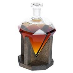 Стеклянный штоф для крепких напитков Diamond