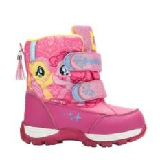 Сноубутсы на липучках My Little Pony