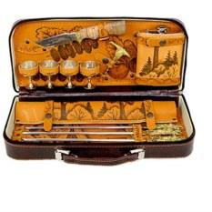 Подарочный набор для пикника на 4 персоны Дачник