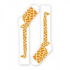 Носки Жираф (цвет — оранжевый)