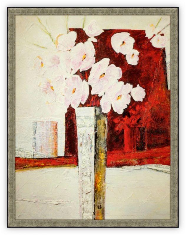Постер Ваза с цветами (Беренис Рикка)