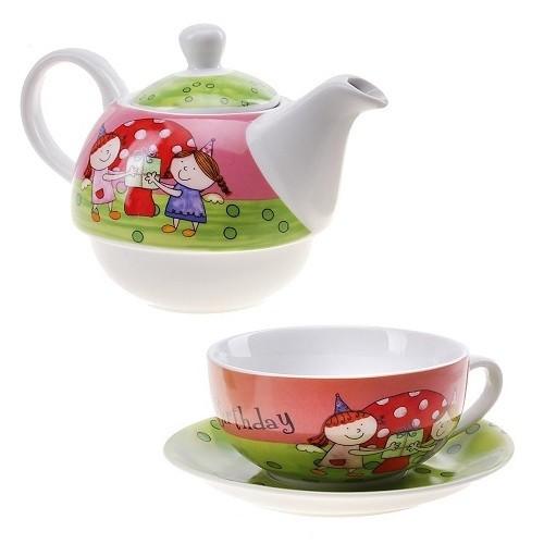 Персональный чайный набор Лучшие подружки