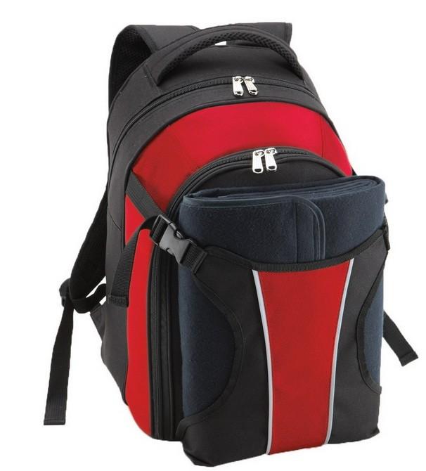 Рюкзак для пикника, красный