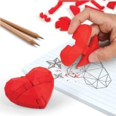 Паззл из ластиков Heart