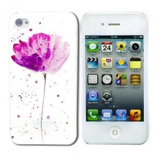 Чехол для iPhone 4/4S Watercolor Flower