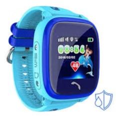 Детские часы с GPS Smart Baby Watch W9 (цвет: голубой)