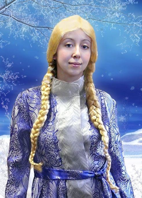 Парик Снегурочка