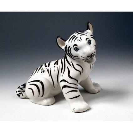 Анималистическая скульптура «Черный тигр»