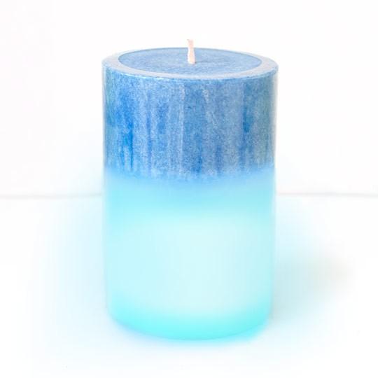 Ароматическая свеча с подсветкой Spring Blue