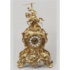 Эксклюзивные часы из бронзы Всадник