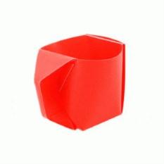 Красная складная кружка