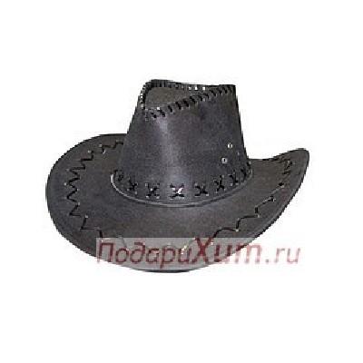 Шляпа ковбойская черная