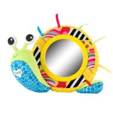 Развивающая игрушка Улитка Мишель с зеркальцем