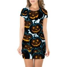 3D платье с короткими рукавами Happy Halloween