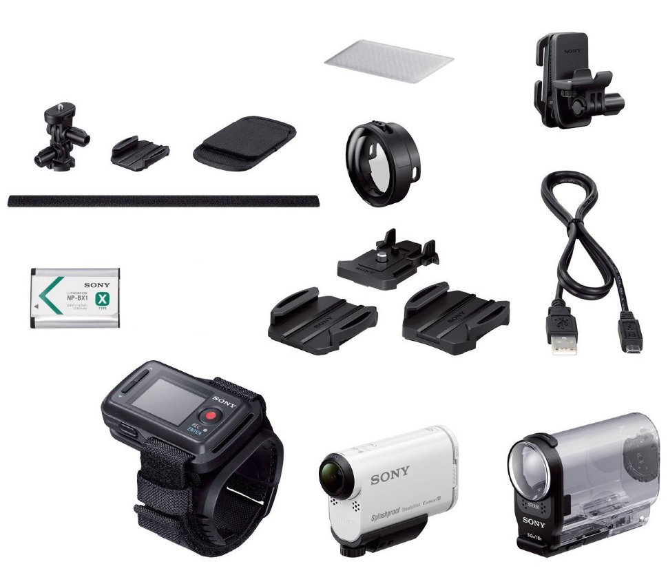 Экшн-камера Sony ActionCam HDR-AS200VT с Wi-Fi и GPS + Пульт