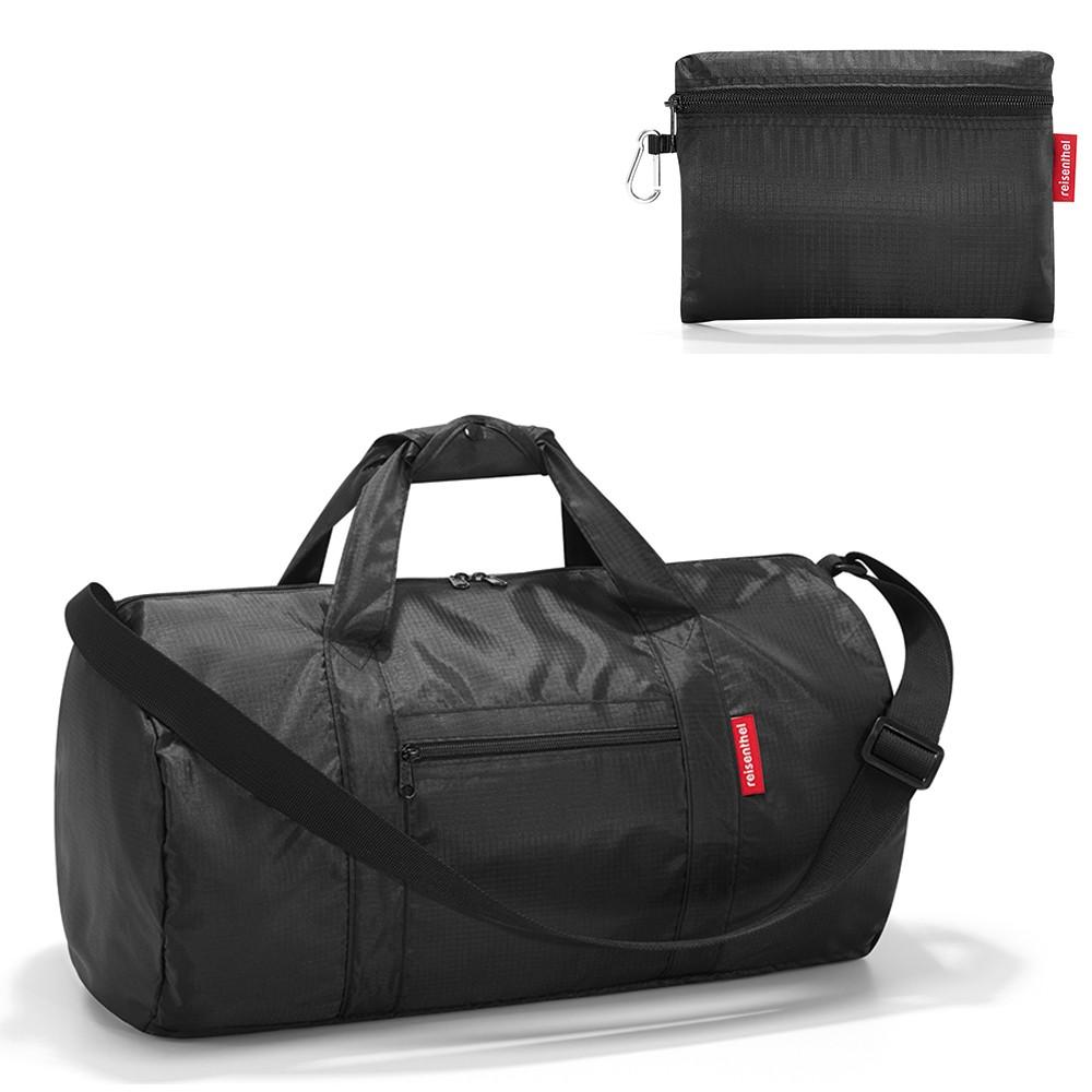 Спортивная складная сумка Dufflebag black