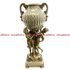 Ваза Грации. Фарфор и бронза. Декор Медичи.