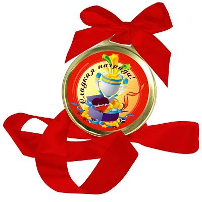 Шоколадная медаль - Сладкая награда