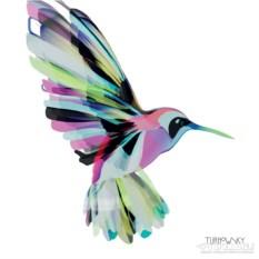 Бумажные салфетки 25х25 см Сorfu hummingbird