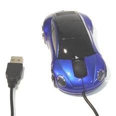 Мышь для ПК в виде автомобиля синяя