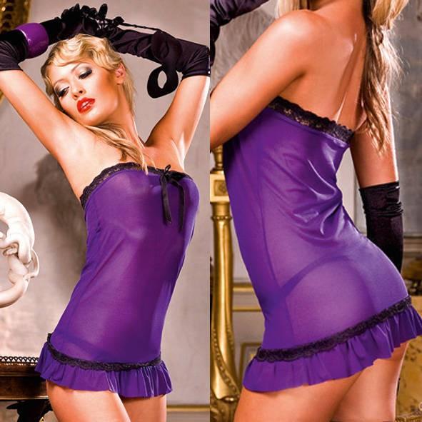 Мини-платье Mafia OS (42-46), фиолетовое