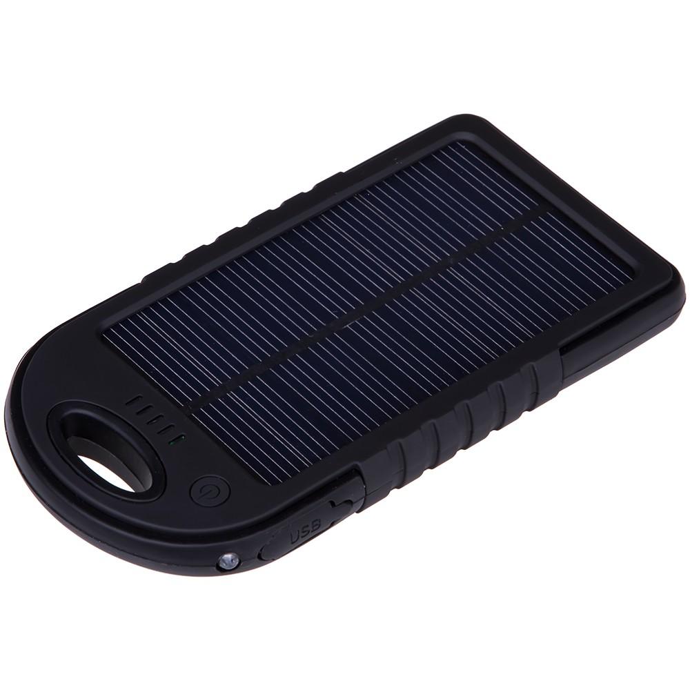 Внешний аккумулятор с солнечной панелью «Турист» 5000 мАч