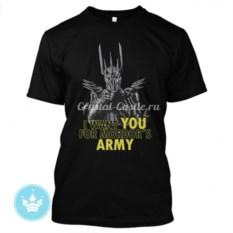 Мужская футболка Mordors Army