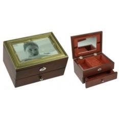 Шкатулка-фоторамка для ювелирных украшений Alba Dorata