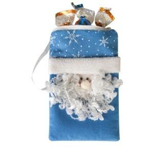Синяя сумочка Дед Мороз