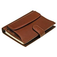 Коричневый кожаный органайзер-ежедневник «Совершенство»