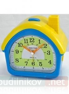 Часы Тик-Так Домик (синий)