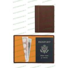 Коричневый кожаный футляр для паспорта Cross Legacy