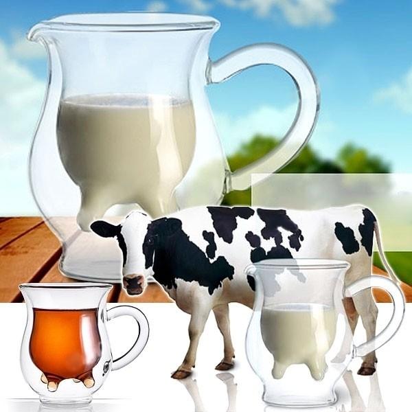 Молочник в форме вымени «Му-му»