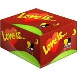 Жевательная резинка Love is... вишня и лимон (100 шт)