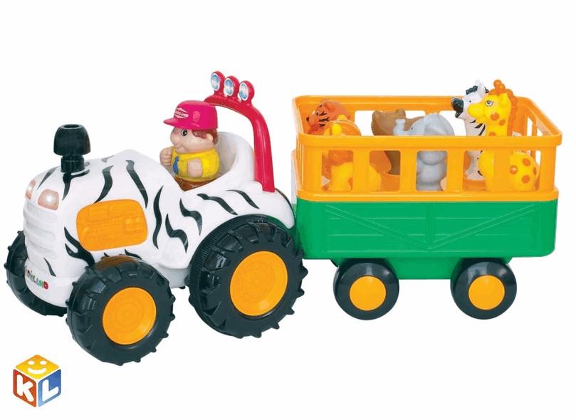 Развивающий центр Трактор сафари от Kiddielandkid