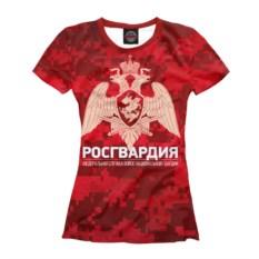 Женская футболка Print Bar Росгвардия