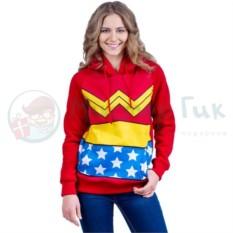 Толстовка Wonder Woman (женская)