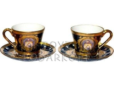 Чайный набор на 2 персоны из серии Императорская коллекция