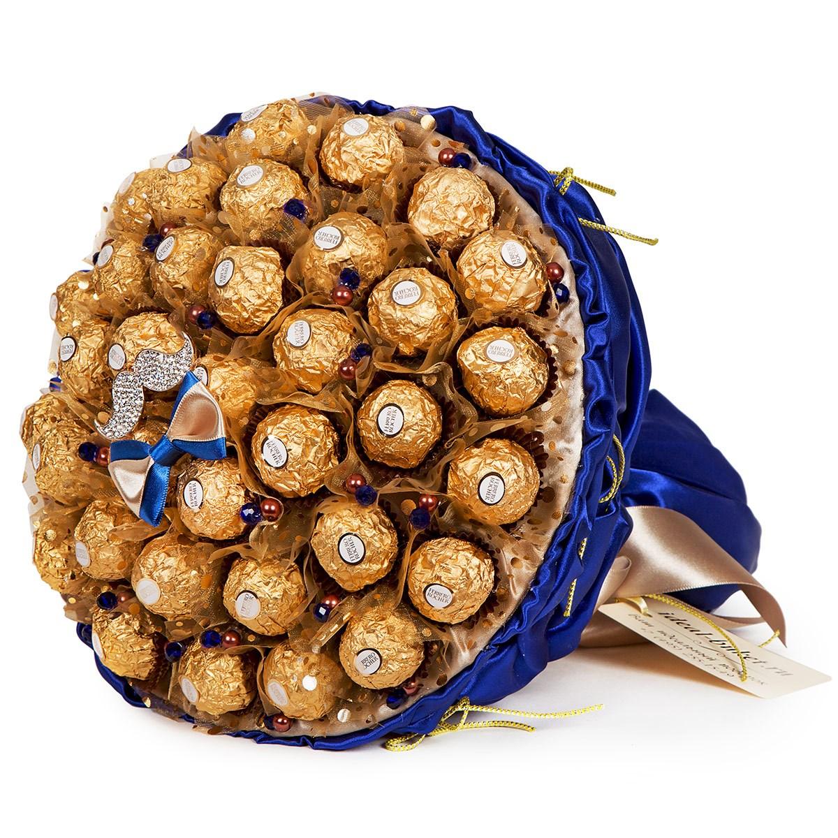 букеты из конфет для мужчины на день рождения однажды