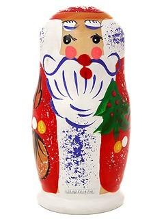 Набор матрешек Дед Мороз мини